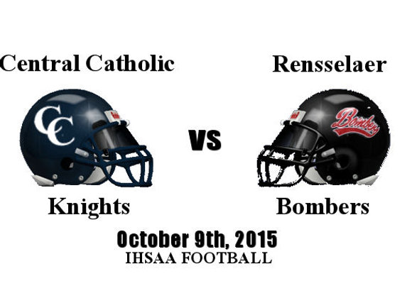 Wk8 Central Catholic vs Rensselaer - FB