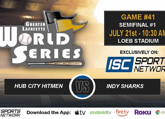 GM41 - Hub City Hitmen vs Indy Sharks - 2019 GLWS