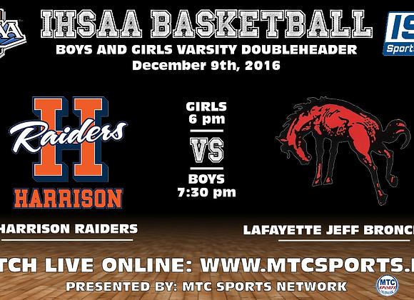 12/9/16 Harrison vs Lafayette Jeff - BBB