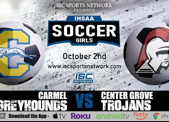 10/2/19 Carmel vs Center Grove - IHSAA Girls Soccer