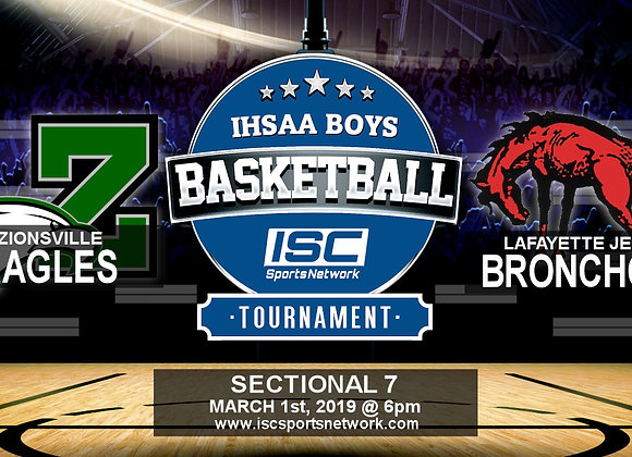 3/1/19 Zionsville vs Lafayette Jeff - IHSAA Boys Basketball