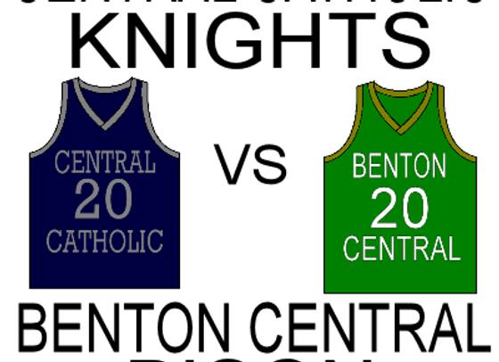 11/21/15 Central Catholic vs Benton Central GBB