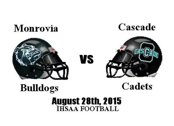 Wk2 Monrovia vs Cascade - IHSAA Football