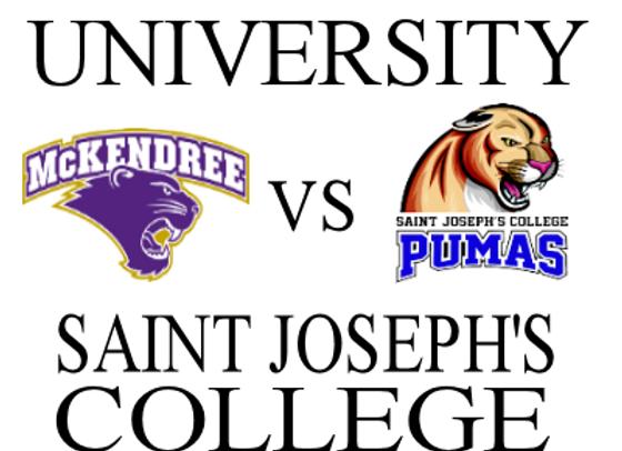 1/24 McKendree Univ vs Saint Joseph's - M
