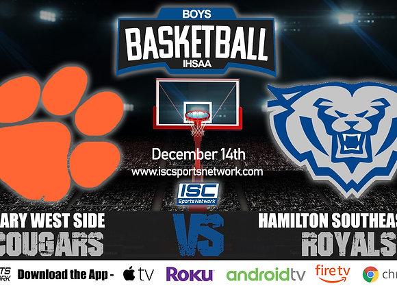 12/14/20 Gary West Side vs Hamilton Southeastern