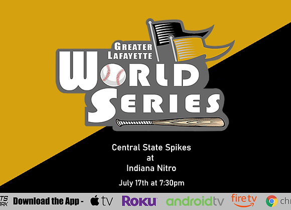 7/17/2020 Central State Spikes vs Indiana Nitro - Game P3 (16U)