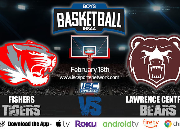 2/18/2020 Fishers vs Lawrence Central - IHSAA Boys Basketball