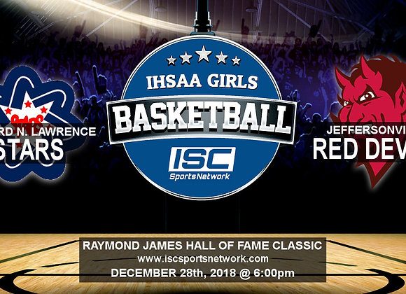 12/28/19 - Bedford North Lawrence vs Jeffersonville - HOF Classic GBB