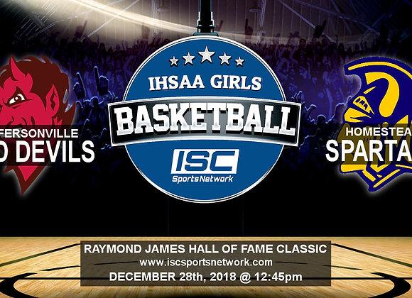 12/28/18 - Jeffersonville vs Homestead - HOF Classic GBB