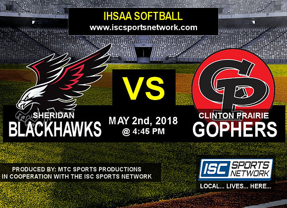 5/2/18 Sheridan vs Clinton Prairie - Softball