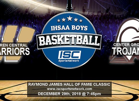 12/29/18 - Warren Central vs Center Grove - HOF Classic BBB