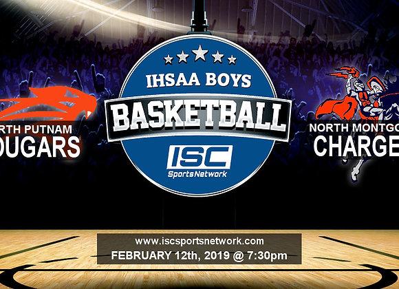 2/12/19 North Putnam vs North Montgomery - IHSAA Boys Basketball