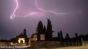 27 août 2019 : Petit orage matinal sur les Charentes