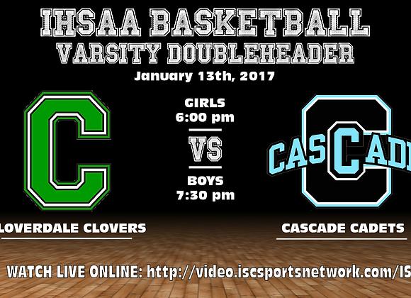 1/13/16 Cloverdale vs Cascade - GBB