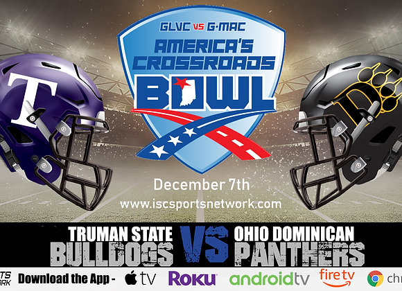 12/7/19 Truman State vs Ohio Dominican - NCAA DII College Football