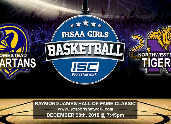 12/28/19 Homestead vs Northwestern - HOF Classic GBB