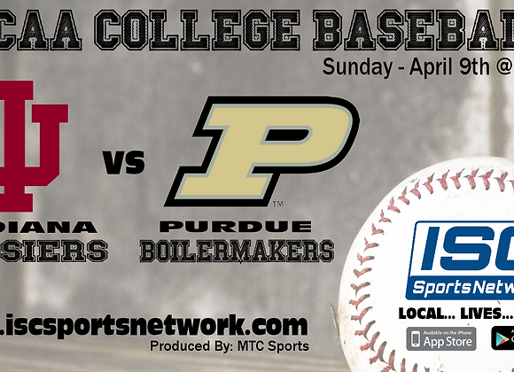 4/9/17 Indiana at Purdue - NCAA College Baseball