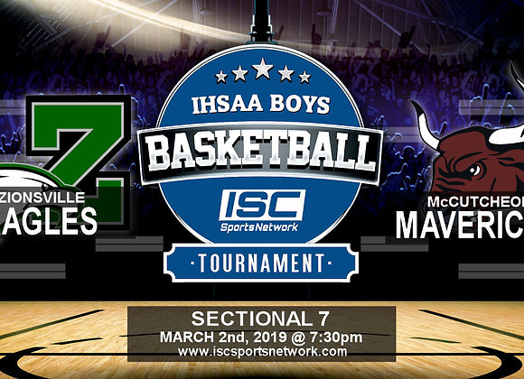 3/2/19 Zionsville vs McCutcheon - IHSAA Boys Basketball
