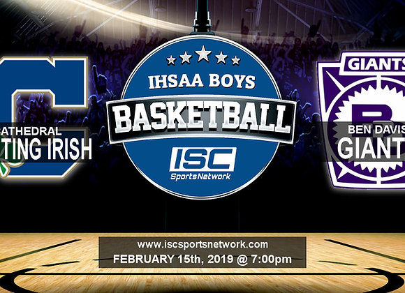 2/15/19 Cathedral vs Ben Davis - IHSAA Boys Basketball