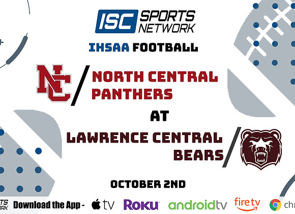 10/2/2020 North Central at Lawrence Central - IHSAA FB