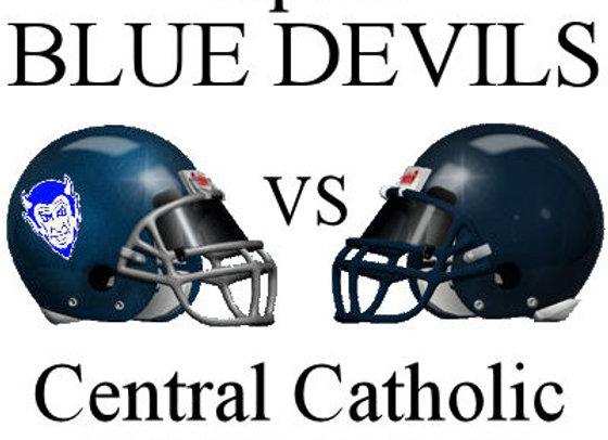 Wk6 Tipton Blue Devils vs Central Catholic Knights