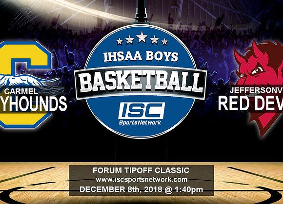 12/8/2018 Carmel vs Jeffersonville - Boys Basketball
