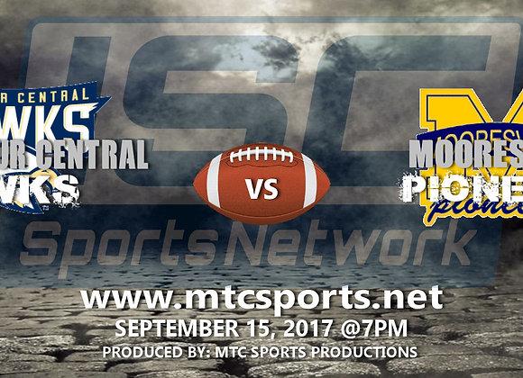 9/15/17 Decatur Central vs Mooresville - FB