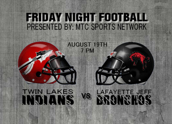 8/19/16 Twin Lakes vs Lafayette Jeff - FB