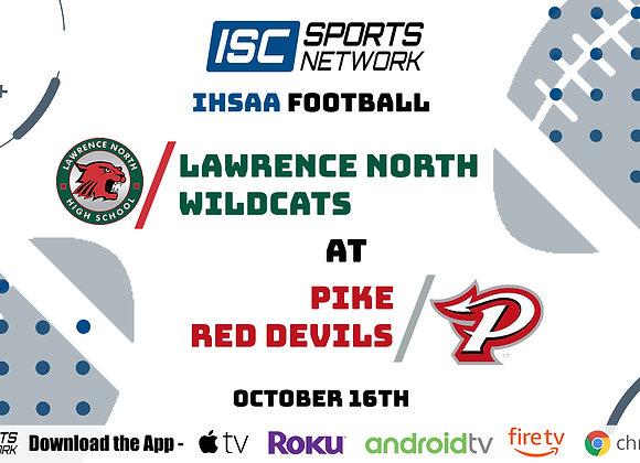 10/16/20 Lawrence North at Pike - IHSAA FB