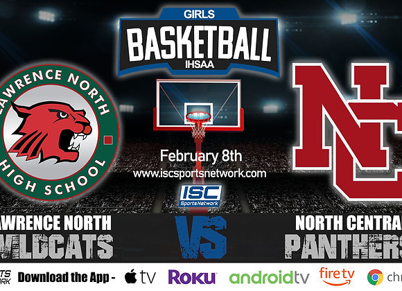 2/8/2020 Lawrence North vs North Central - IHSAA Girls Basketball