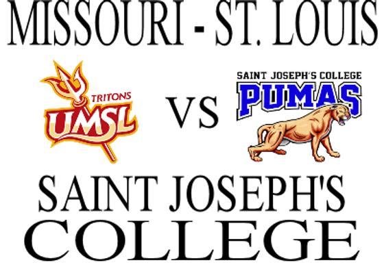 2/7 Univ of Missouri STL vs Saint Joseph's - M