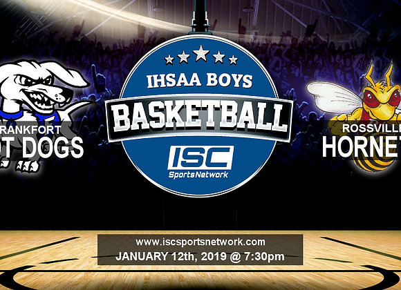 1/16/19 Frankfort at Rossville - IHSAA Boys Basketball