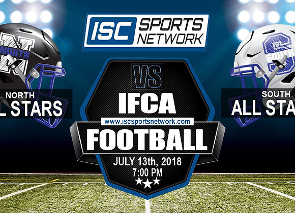 2018 IFCA North vs South All Star Football Game