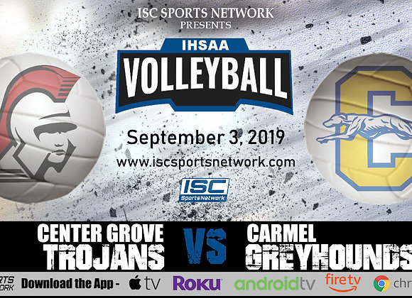 9/3/2019 Center Grove at Carmel - IHSAA Volleyball