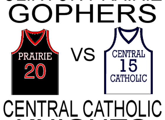 1/14/16 Clinton Prairie vs Central Catholic - GBB