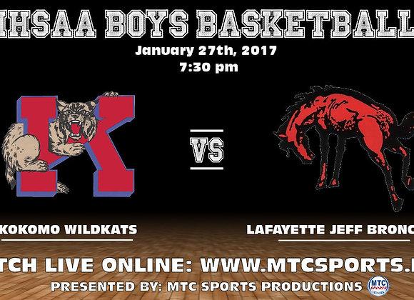 1/27/17 Kokomo vs Lafayette Jeff - BBB