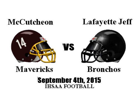 9/4/2015 McCutcheon at Lafayette Jeff - IHSAA Football