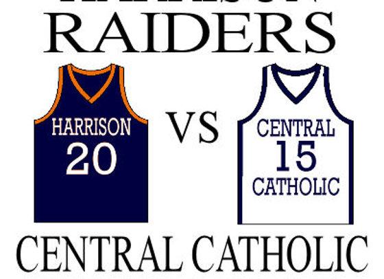 12/3 Harrison vs Central Catholic - Girls BBall