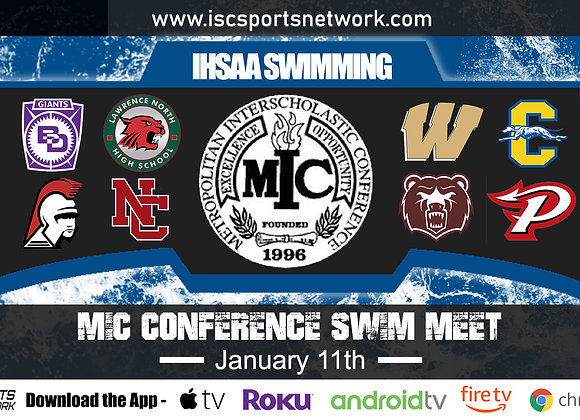 1/11/2020 MIC Conference Swimming Championships