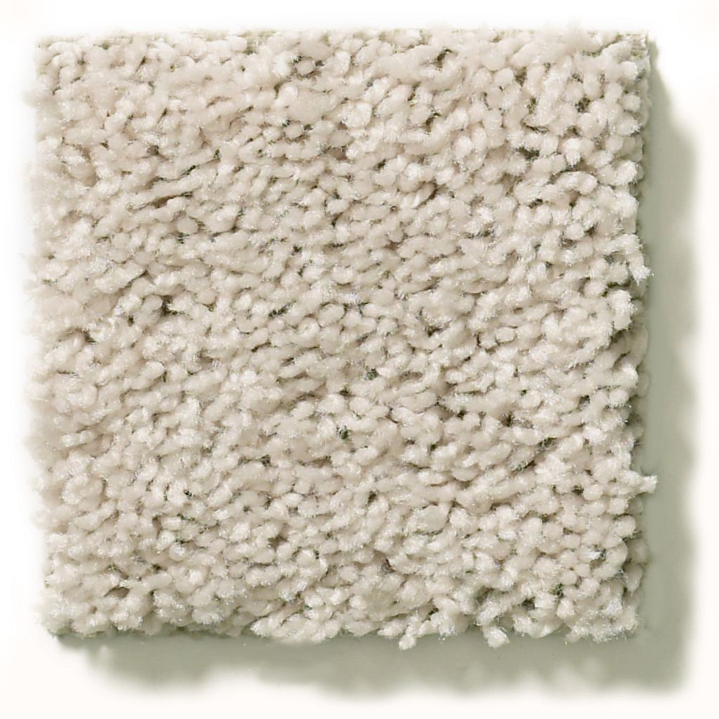 Breakaway winter white residential carpeting