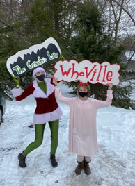 Whoville character visit