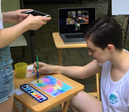 Remote art project