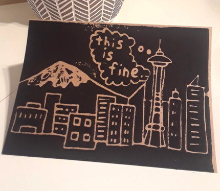 Does the Space Needle ever tire of its view?