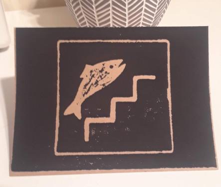 Fish Ladder Icon