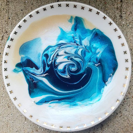 Trinket Dish - Message to reserve