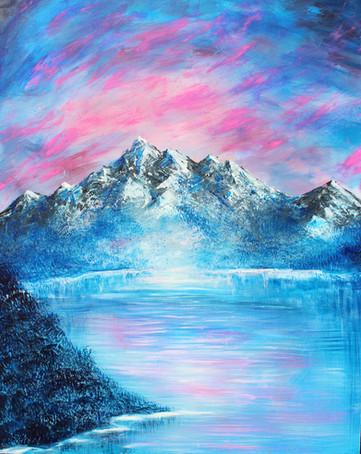 Cotton Candy Mountains - EDITED - Shot o