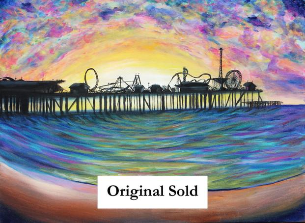 Commissioned Galveston Beach Movie Scene