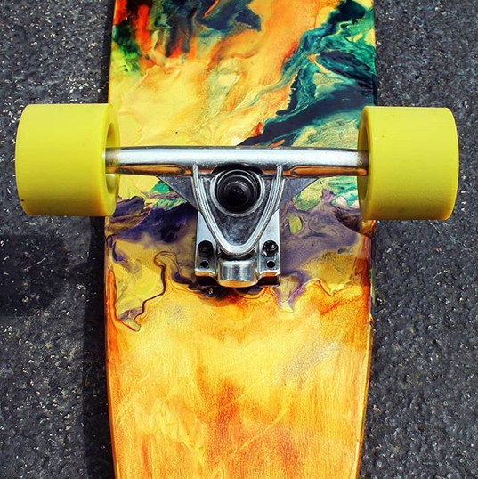 Longboard - Not for sale - Message for customs and to create your own with dream colors