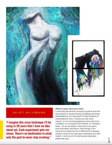 Page with Iris and Studies DESTIG MAGAZI