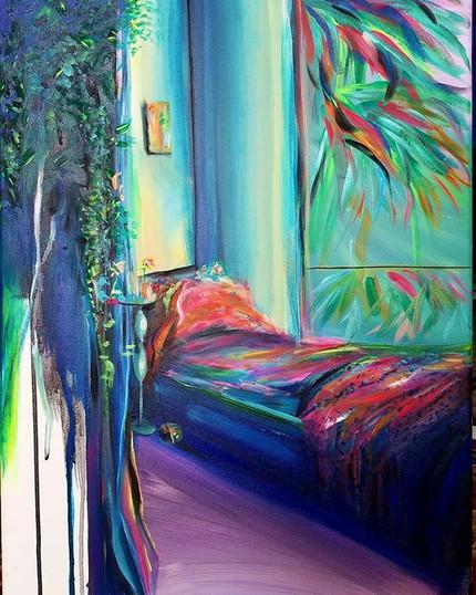 _Secret Spaces_ 💫_ 16_x24_ Acrylic on C